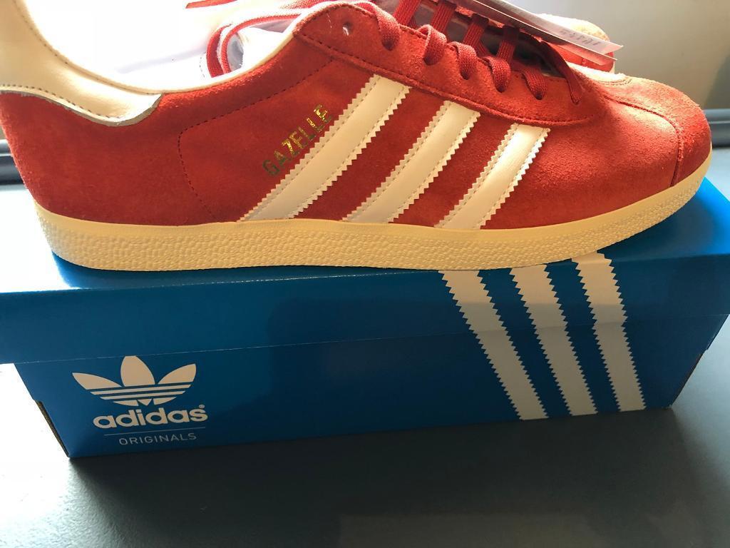 Adidas Gazelle Red size 8.5 brand new!! | in Aberdare