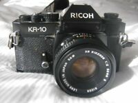 Ricoh KR10 35mm film camera