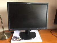 "22"" Lenovo Monitor for sale"