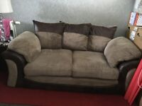 small two seater and chair for sale