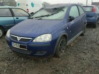 Vauxhall Corsa C Z21B Z12XEP 44000 mile breaking for spares.