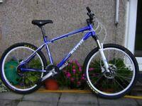Kona Blast Mountain Bike, in outstanding condition. Medium 18 inch frame.