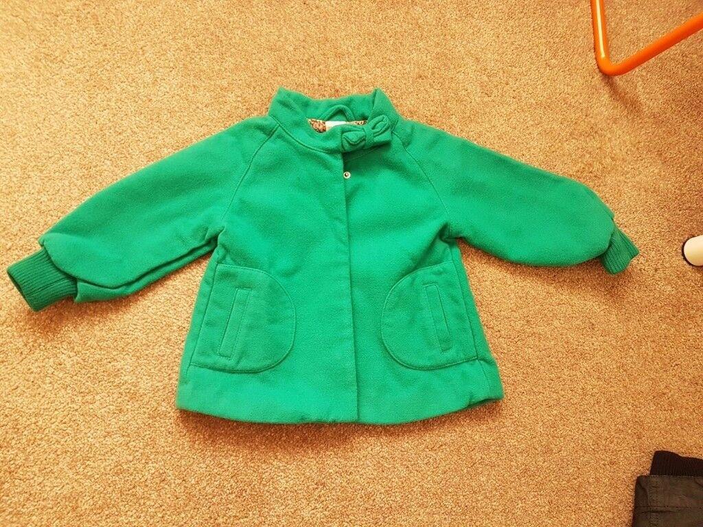 H&M Girl's Winter Coat (worn twice, 12-18 months)