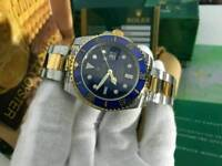 Rolex Submariner Date Blue Dial two tone