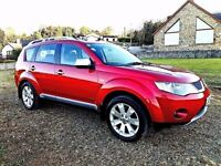2008 mitubishi Outlander Challenger 2.0 diesel 7 seater leather f\s\h\ jeep 1 owner