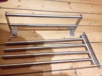 Small towel rails for bedroom or bathroom or kitchen, pre-used