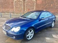 2005 MERCEDES CLK / ALLOYS / LEATHER / ELECTRIC WINDOWS / CD SYSTEM / JULY MOT .