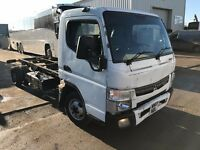 MITSUBISHI CANTER 3C13 LWB 2013REG CHASSIS CAB FOR SALE