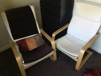 2 X Chairs- IMMACULATE CONDITION