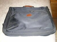 John Lewis Commute Garment carrier in navy fabric, excellent condition