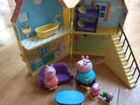 Lots of Peppa pig toys!