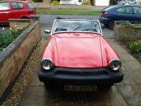 mg midget, nice solid classic car , convertible , garage clearance need it gone