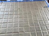 Genuine Spanish Blue Ceramic Glazed Tiles