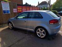 Audi A3 Sport TDI DIESEL 2L 2005 140 bhp
