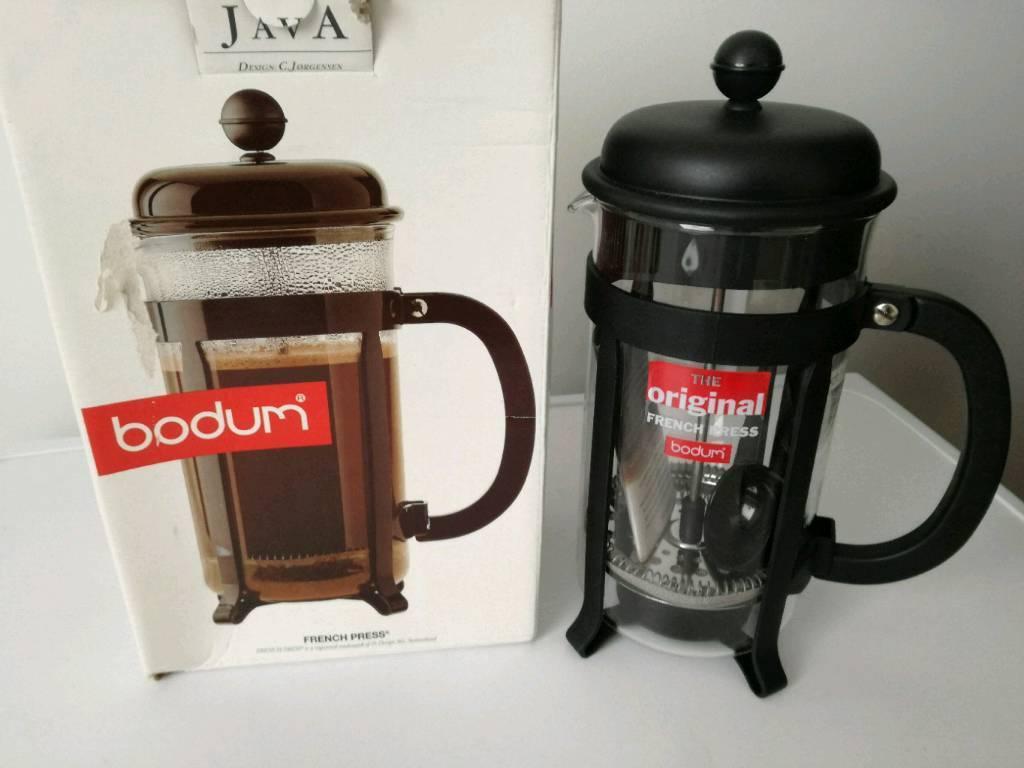 Brand New boxed Bodum Java French Coffee Press 24cm tall 1.01/34oz/8 cups