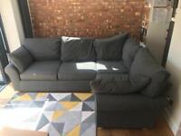 Sofa, Corner, Grey, M&S