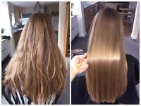 HALF PRICE! Only £100 now. Permanent Hair straightening with NEW keratin!