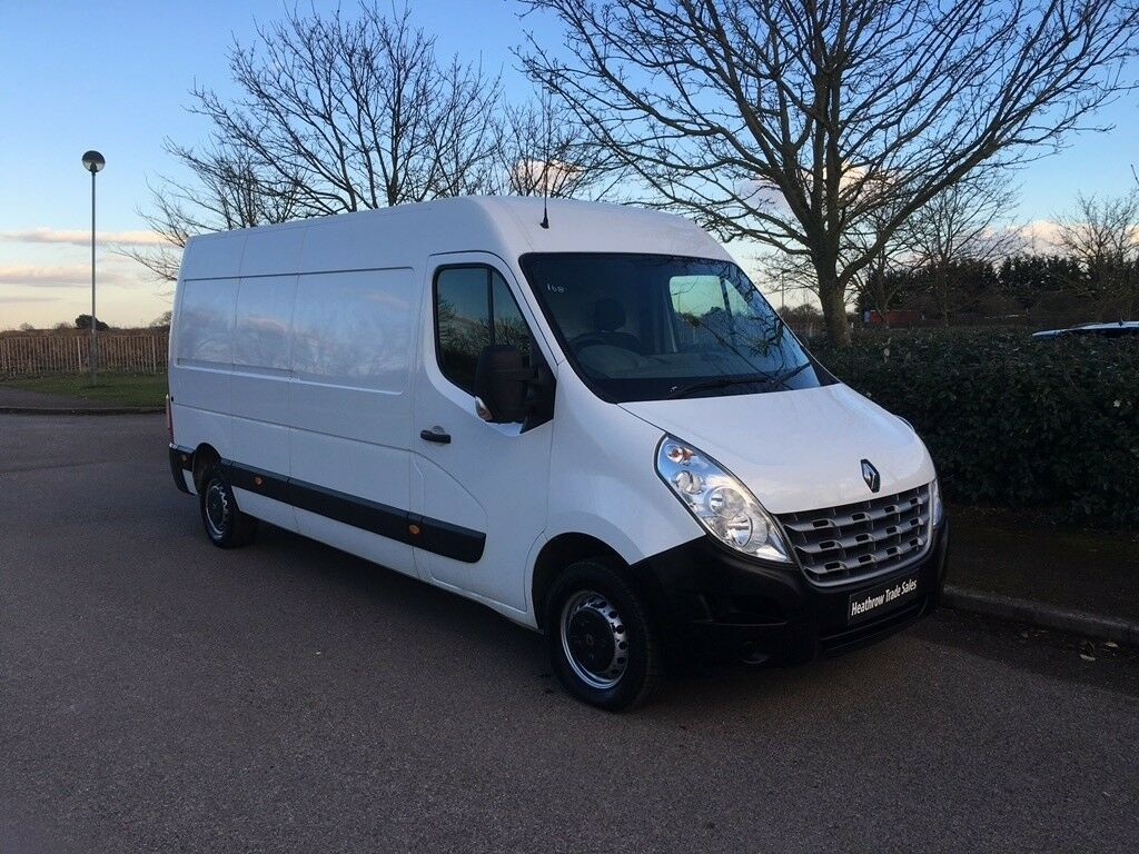 e45ae6d89a RENAULT MASTER 2.3 dCi LM35 Medium Roof Van (FWD) 4dr (LWB) (white) 2013