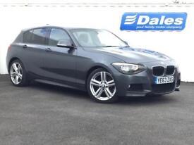 BMW 1 Series 118d M Sport 5dr (grey) 2013