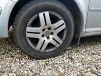 Vw golf mk4 alloy wheels x4 £75