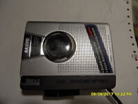 Sanyo cassette dictaphone