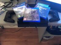 Ps4 2 controllers 5 games