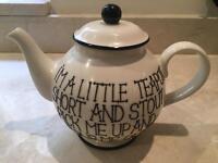 Teapot made by Fairmont & Main