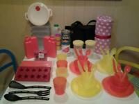 CAMPING/CARAVAN/PICNICS/GARDEN+ .. 50 PLUS MOSTLY NEW ACCESSORIES