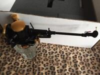 Graham Phantom B-44 tonearm with cable and accessories