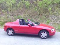 1995 Honda Del Sol Coupé (2 portes)