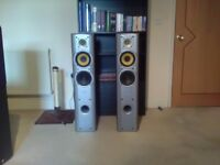 JAMO X3M 200 WATTS speakers with built in subwoofers