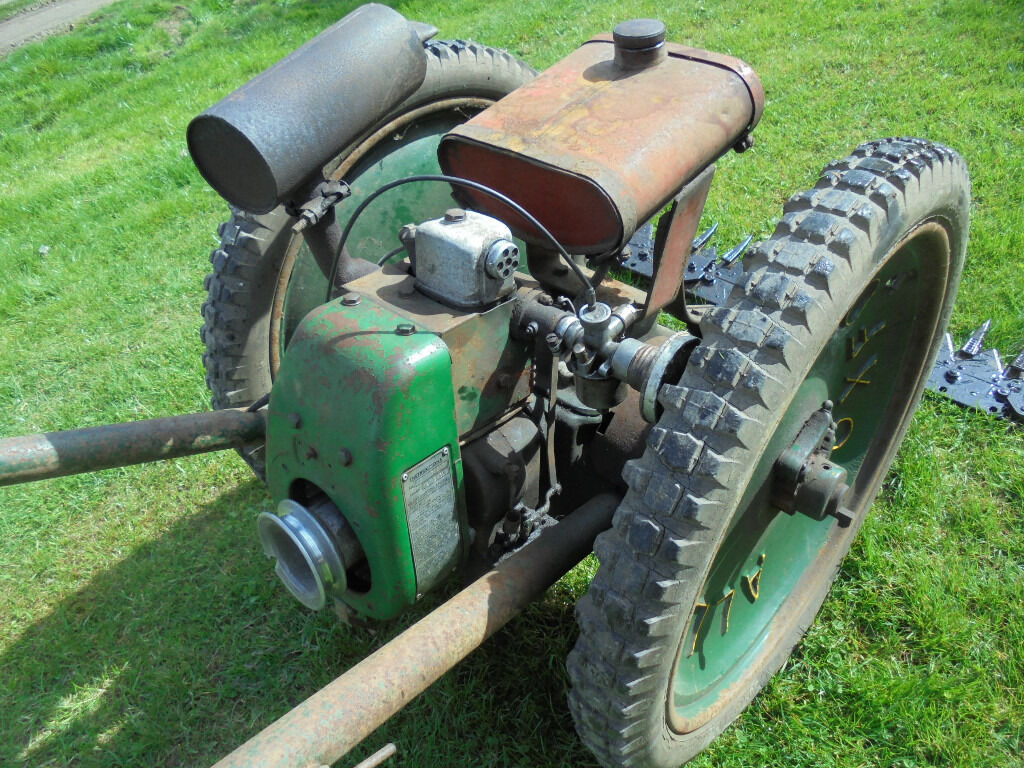 Oxford allen scythe with 4 stroke villiers petrol engine for Villiers 86