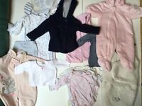 Baby Girl Clothes Bundle 0/6 Months £20 Ref 0125