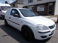 2006 Vauxhall Corsavan cdti diesel van only 77000 miles very clean drives great
