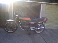 1982 Honda Cb250n Superdream not a 125cc, great A2 legal motorcycle/ Cafe racer project