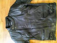 JTS Leather Jacket and Trousers
