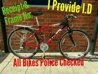 Hybrid Bike Very Good Condition + Receipt & my I.D
