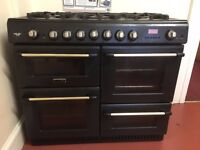 Canon Dual Fuel Range Cooker, Gas Rings and Electric Ovens.