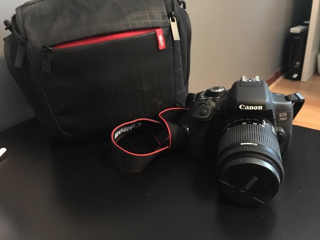 Canon eos750D dslr camera
