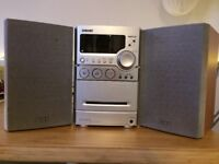 Sony stereo with radio CD and tape