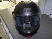 GREX G9.1 CRASH HELMET SIZE XL BRAND NEW BLACK