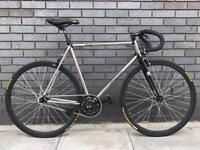 Aphelion 1962 Chrome single speed fixed gear bike 54cm excellent condition