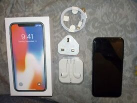iPhone X || Unlocked to all networks || As new