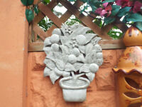 Concrete Orange / Citrus Tree Wall Plaque – Garden Ornament