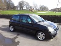 Renault Clio 1.2 16v Extreme 3 Door ★★BLACK★★VERY CHEAP★★HURRY WHEN IT'S GONE IT'S GONE ★★