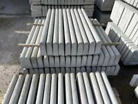 Round Top Concrete Path Edging / Kerbs / Borders ~ New