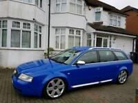 Audi S6 Avant Rare Nogaro Blue FSH 4.2 V8 not s3 rs6 rs4 s4