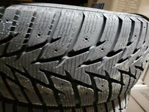 4 winter tires studdable NEW 205/55r16