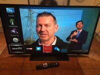 """AS NEW,42""""SMART WIRELESS WIFI LED DIGITHOME HDTV"""