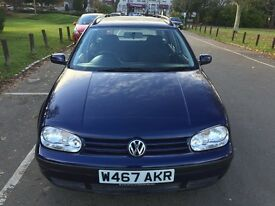 2000 Volkswagen Golf S 5dr Automatic Low Mileage 1 Owner From 2001 @07445775115@
